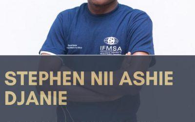 Interview of Mr Stephen Djanie